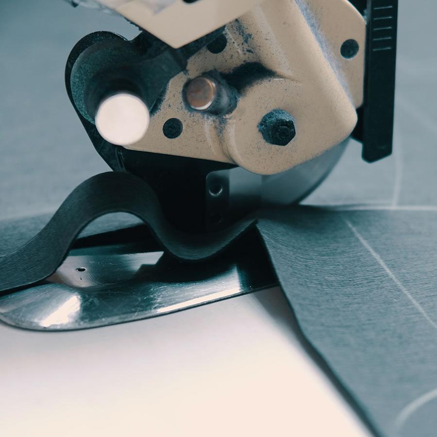cutting fabric